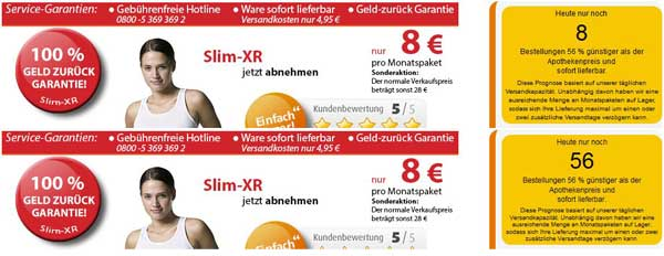 Künstliche Verknauppung Slim-XR