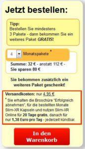 Online Zugang Slim-XR